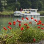 Canal de l'Aisne á la Marne, PK 10, Hausboot Pénichette