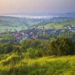 Frankreich,Burgund,Canal de Nivernais,Corbigny,Asnan,Landschaft