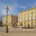 La Place Stanislas in Nancy , Dept. Meurthe-et-Moselle , Region Alsace-Lorraine , Elsaß-Lothringen , Frankreich , Europa / La Place Stanislas in Nancy , Dept. Meurthe-et-Moselle , Region Alsace-Lorraine , France , Europe