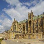 Kathedrale Saint-Étienne , Metz , Dept. Moselle , Region Alsace-Lorraine , Elsaß-Lothringen , Frankreich , Europa / Saint-Étienne Cathedral , Metz , Dept. Moselle , Region Alsace-Lorraine , France , Europe