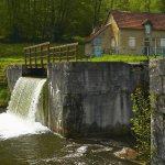 Frankreich,Burgund,Canal de Nivernais,Schleusentreppe von Sardy