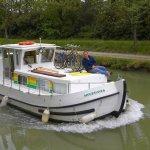 Frankreich,Dept.Aude,Canal du Midi,Locaboat