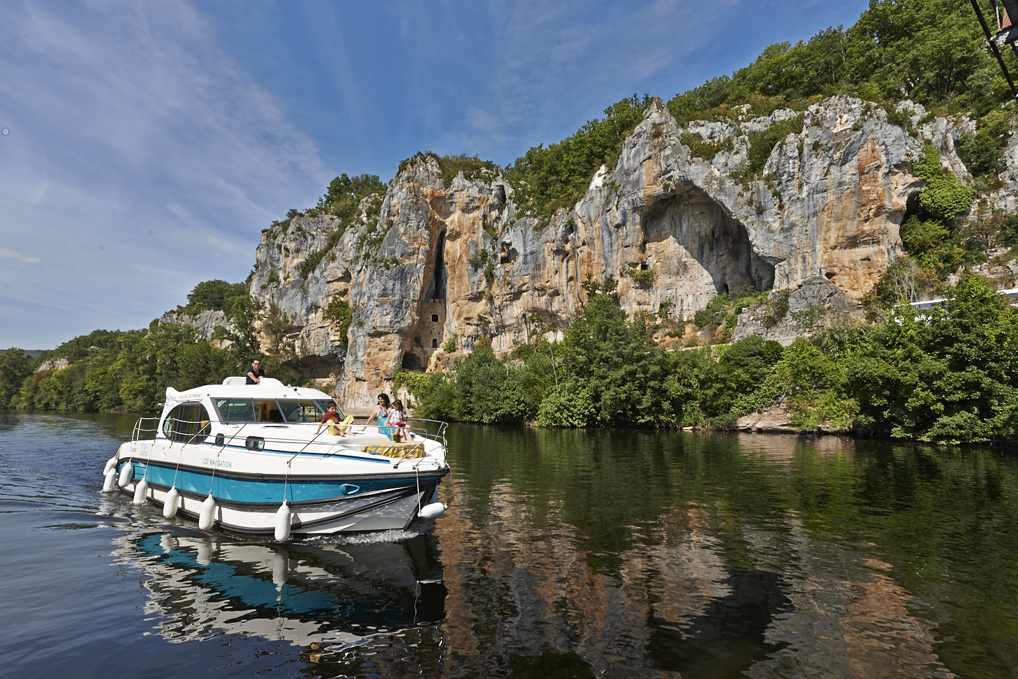 Hausboot mieten in frankreich for Traditionelles hausboot mieten
